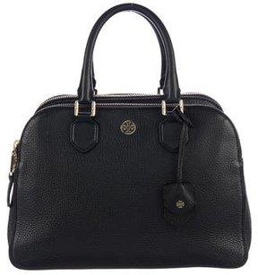 Tory Burch Thea Triple Zip Bag - BLACK - STYLE