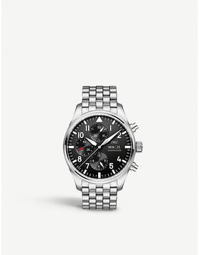 IWC IW377710 Pilot's stainless steel watch