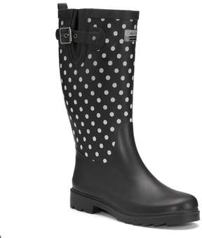 Chooka Flash Dot Women's Tall Reflective Waterproof Rain Boots