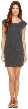 Alternative Washed Slub Le Cote Pocket Dress Women's Dress