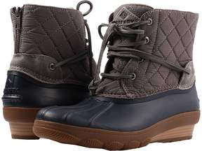 Sperry Saltwater Wedge Tide Quilted Nylon Women's Dress Boots