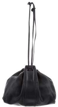 Bottega Veneta Textured Leather Drawstring Bag