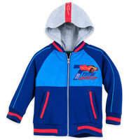 Disney Lightning McQueen Hooded Varsity Jacket for Boys