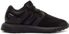 Y-3 Black Pureboost Sneakers