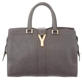 Saint Laurent Cabas Chyc Tote - GREY - STYLE