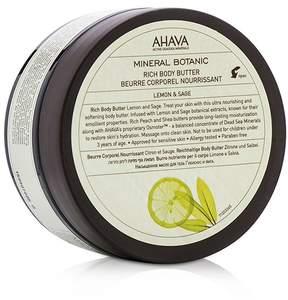 Ahava Mineral Botanic Rich Body Butter - Lemon & Sage