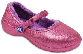 Crocs Karin Sparkle Lined Girls' Clogs