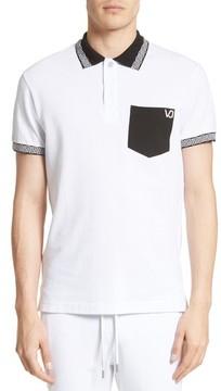 Men's Versace Jeans Colorblock Polo