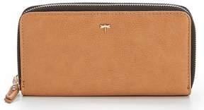 Kate Landry Double Zip-Around Wallet