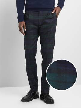 Gap Wool slim fit pants with stretch