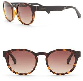 GUESS 50mm Round Sunglasses