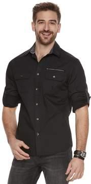 Rock & Republic Men's Print Button-Front Shirt