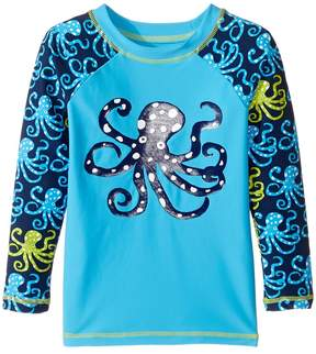 Hatley Deep Sea Octopus Rashguard (Toddler/Little Kids/Big Kids)