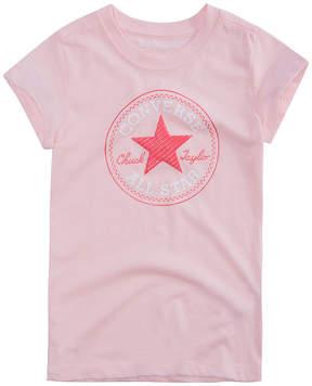 Converse Graphic T-Shirt-Big Kid Girls