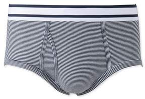 Petit Bateau Mens milleraies-striped briefs
