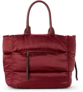 Urban Expressions Wine Arabesque Quilted Tote