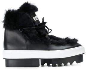 Albano chunky platform boots