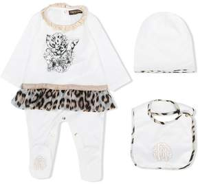 Roberto Cavalli leopard print pyjama