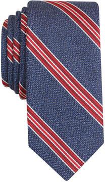Bar III Men's Corby Stripe Slim Tie, Created for Macy's