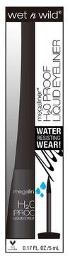Wet n Wild Megaliner® H2O Proof Liquid Eyeliner - 879 Black - 0.17 oz