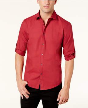 Alfani Men's Warren No Pocket Long Sleeve Shirt, Created for Macy's