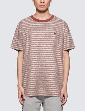 MAISON KITSUNÉ Surf Stripes S/S T-shirt