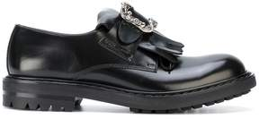 Alexander McQueen buckled loafers