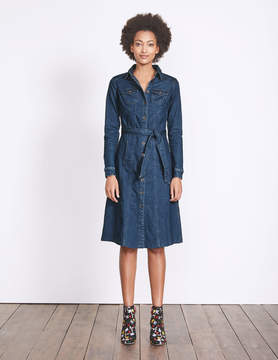 Boden Laura Denim Shirt Dress