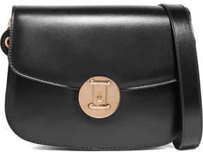Calvin Klein Leather Shoulder Bag - Black