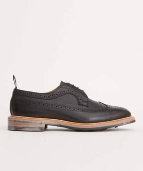 Tricker's Limited Edition Leather Brogue Shoe in Black