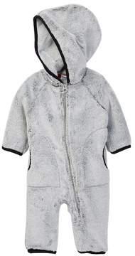 Splendid Faux Fur Hooded Coverall (Baby Boys)
