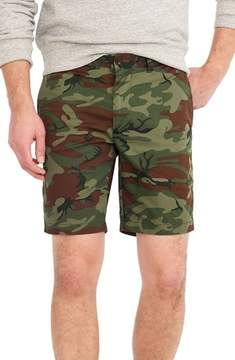 J.Crew Stretch Camo Shorts