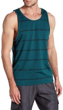 Burnside Striped Scoop Tank