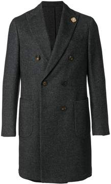 Lardini double-breasted tailored coat