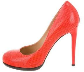 Reed Krakoff Perforated Round-Toe Pumps