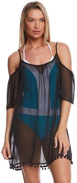 Bleu Rod Beattie Gypset Cold Shoulder Dress 8159966