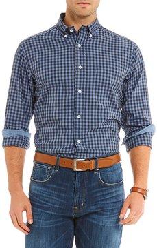 Daniel Cremieux Check Basketweave Long-Sleeve Woven Shirt