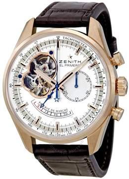 Zenith El Primero Chronomaster Open Rose Gold Automatic Men's Watch 182080402101C494
