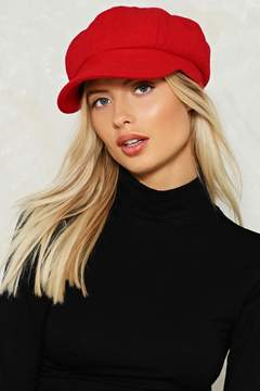 Nasty Gal nastygal You Stay Here Baker Boy Cap