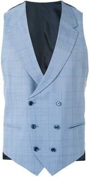 Caruso grid waistcoat