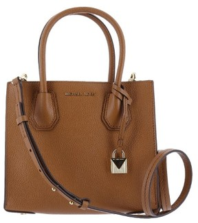 Michael Kors Mercer Leather - Crossbody - Acorn - 30F6GM9M2L-532 - AS SHOWN - STYLE