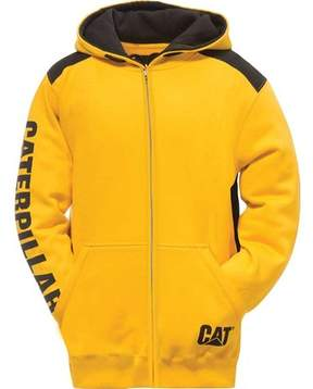 Caterpillar Logo Panel Zip Sweatshirt (Men's)
