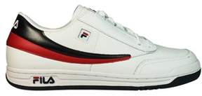 Fila Men's White Leather Sneakers.