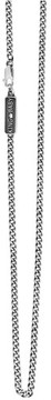 King Baby Studio Men's Sterling Silver Chain Necklace