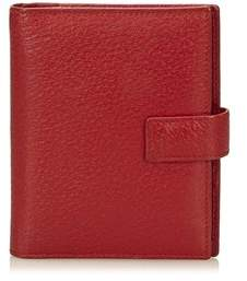 Gucci Pre-owned: Textured Leather Notebook Cover.