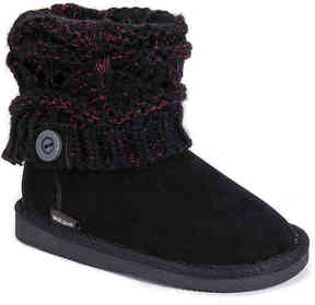 Muk Luks Girls Patti Toddler & Youth Boot
