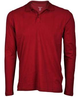 Majestic Men's 09006854 Red Cotton Polo Shirt.