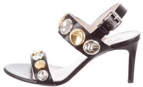 Marc Jacobs Embellished Leather Sandals w/ Tags