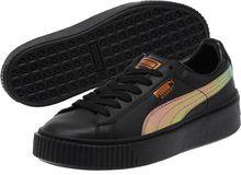 Puma Basket Platform Rainbow JR Sneakers