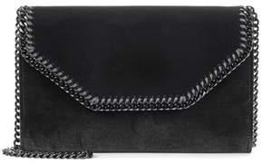 Stella McCartney Falabella velvet shoulder bag